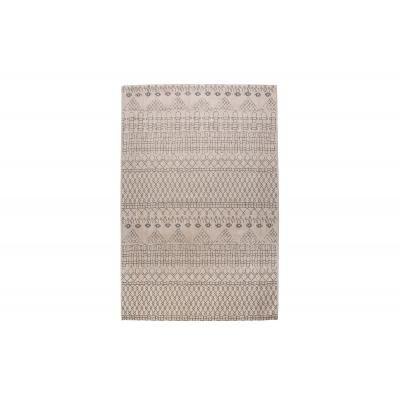 Etno mintás szőnyeg 240x160 cm, bézs-fekete - MINERALE